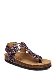 Sandal glitter - PURPLE