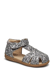 Sandal bow - SILVER