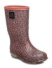 Rubber boot girl - LEOPARD