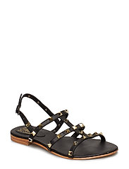 sandal studs junior - BLACK