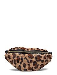 Bumbag leo fur - BROWN LEOPARD