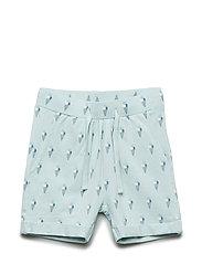 Shorts - AOP GREEN ICE