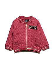 Sweat jacket - EARTH RED