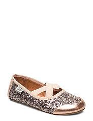 Indoor shoe glitter - ROSE
