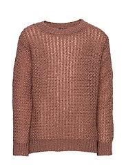 Knit Blouse - DUSTY ROSE