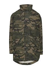 Jacket - CAMOUFLAGE