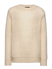Knit Blouse - OFF WHITE