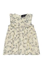 Dress - WHITE FLOWER