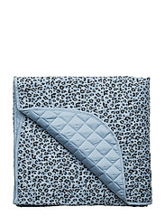 Blanket Quilted - BLUE LEOPARD