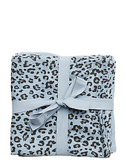 baby cloth - BLUE LEOPARD