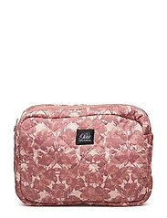 Toilet bag quilted - FLOWER