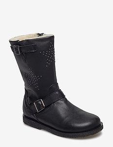 boot w. TEX - vinterstøvler - black