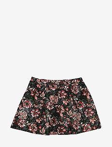 Skirt - nederdele - blk flower