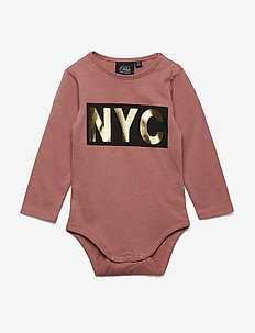Body long sleeve NYC - langærmede - dusty rose