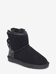 Boot teddy w.glitter - bottes d'hiver - black