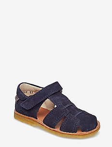 Suede sandal - sandals - dark blue