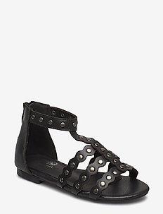 Sandal studs - sandals - black