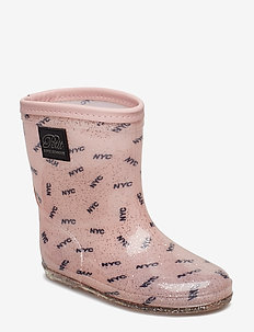 Rubber boot baby girl - ALL OVER PRINT NYC