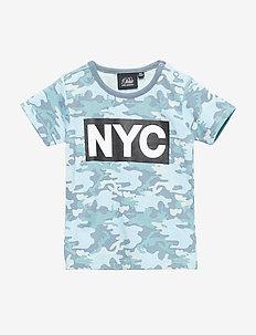 T-shirt - MIDDLE BLUE