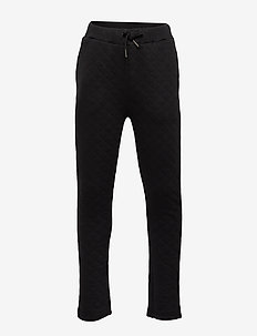 Pants - sweatpants - black