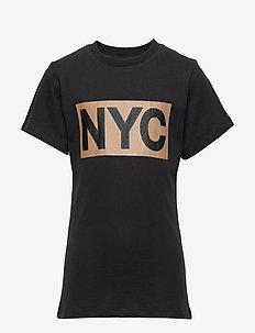 T-shirt - kortærmede - black