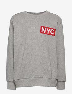 Sweat - sweatshirts - grey mel