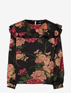 Shirt - AOP FLOW BLK