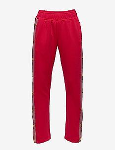 Pants - sweatpants - red