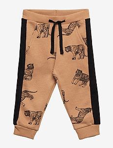 Pants - sweatpants - tan
