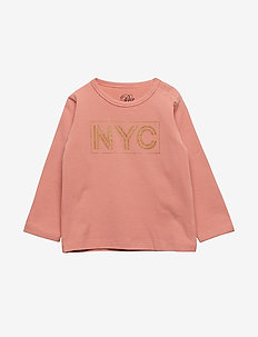 Blouse NYC - long-sleeved t-shirts - dusty rose