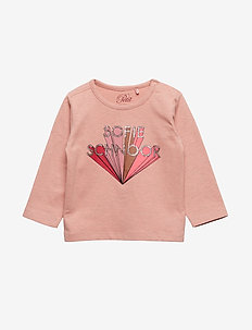 Blouse - long-sleeved t-shirts - rose