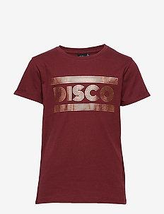 T-shirt - kortærmede - dark red