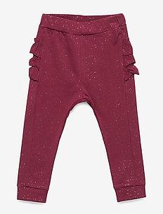Pants - DARK RED