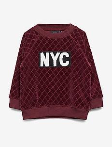 Sweat - sweatshirts - dark red