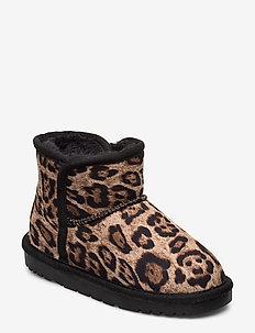 Boot - vinterstøvler - leopard