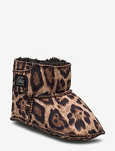 Boot - hjemmesko - leopard