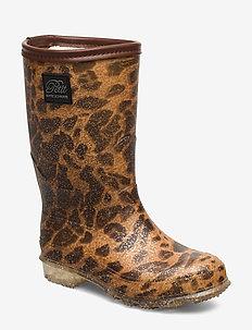 Rubber boot - bottes en chaouthouc - leopard