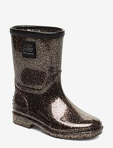 Rubber boot - bottes en chaouthouc - bronze
