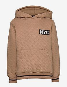 Hoodie - hoodies - camel