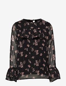 Blouse - blouses & tunics - black