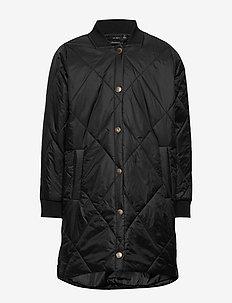 Jacket - puffer & padded - black