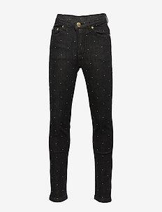Pants - jeans - black