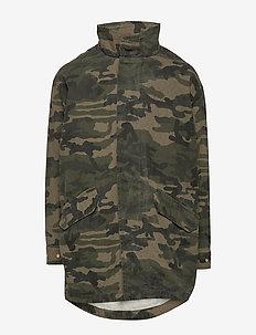Jacket - parkas - camouflage