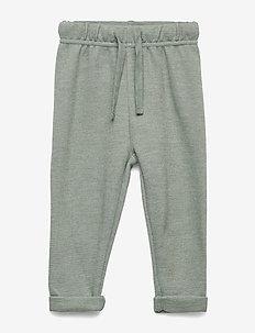 Pants - pantalons - light green melange
