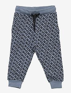Pants - joggingbroek - dusty blue