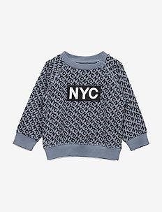 Sweat NYC - sweatshirts - dusty blue