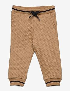Pants - joggingbroek - camel