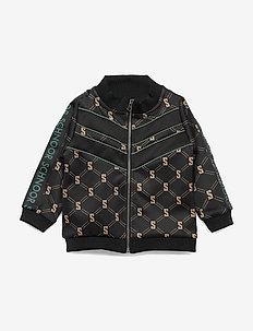 Cardigan - sweatshirts - black