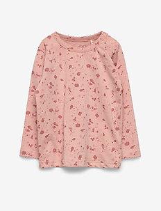 T-shirt LS - langærmede t-shirts - light rose
