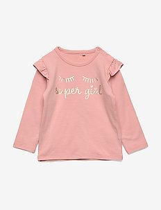 T-shirt LS - langærmede t-shirts - coral